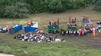 14 ème édition de la 'Clean my Island' en Guadeloupe.