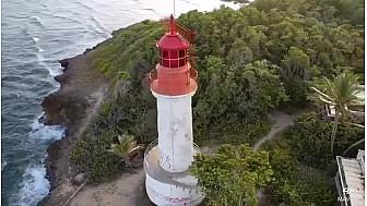 L'Ilet du Gosier en Guadeloupe, un petit coin de paradis.